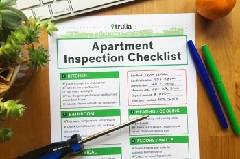 Rental inspection checklist