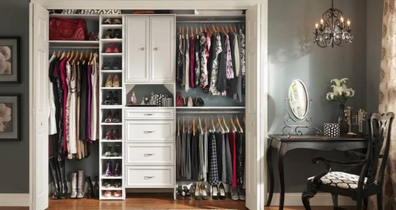 8 Space-Saving Organization Ideas for When You Don't Have a Walk-in Closet