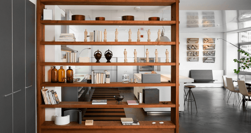 Open Shelving Ideas to Divide and Conquer Your Space