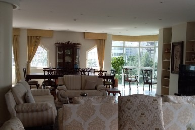 furnished penthouse in Tehran Zafaraniyeh