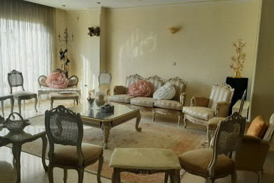 Fully furnished penthouse for rent in Tehran Pasdaran