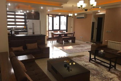 fully furnished apartment for rent in Tehran Saadat Abad