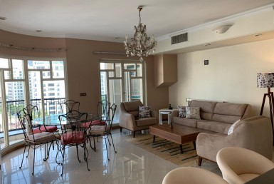 furnished flat for rent in Tehran Zafaraniyeh