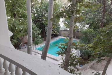 duplex villa for rent in Tehran Tajrish