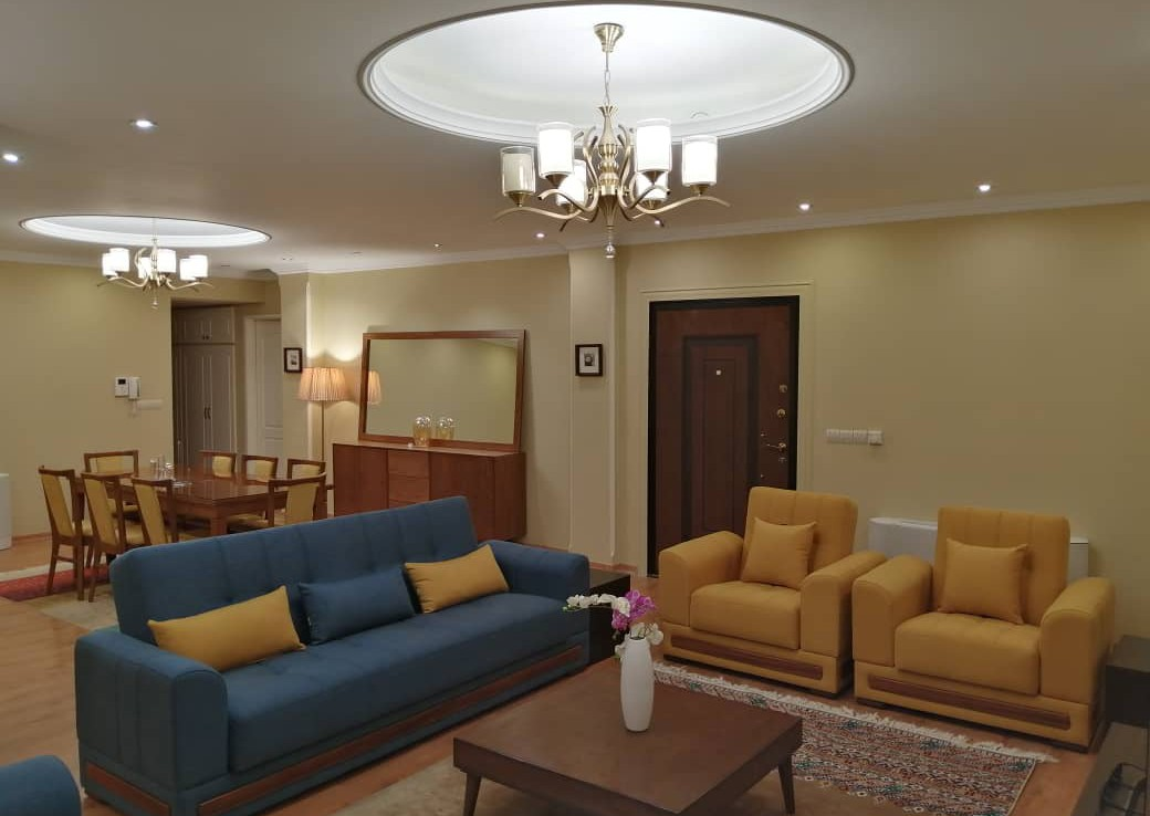 Fully furnished apartment for rent in Tehran Pasdaran