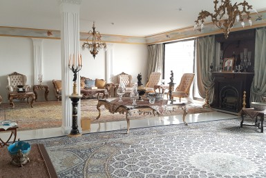 furnished penthouse for renting in Tehran Zafaraniyeh