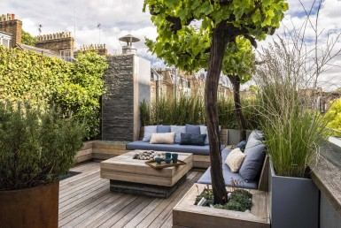 Decorating a Rooftop Terrace