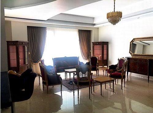 fully furnished apartment for rent in Zafaraniyeh Tehran