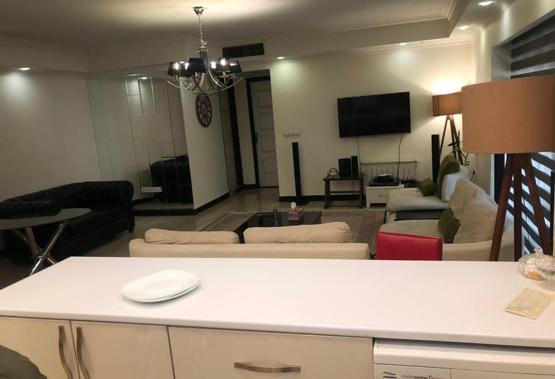 furnished flat for renting in Tehran Sa'adat Abad