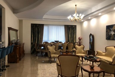 fully furnished flat for renting in Zafaraniyeh Tehran