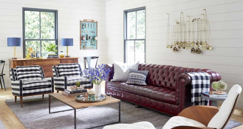 8 Ways to Add Impact Above Your Sofa