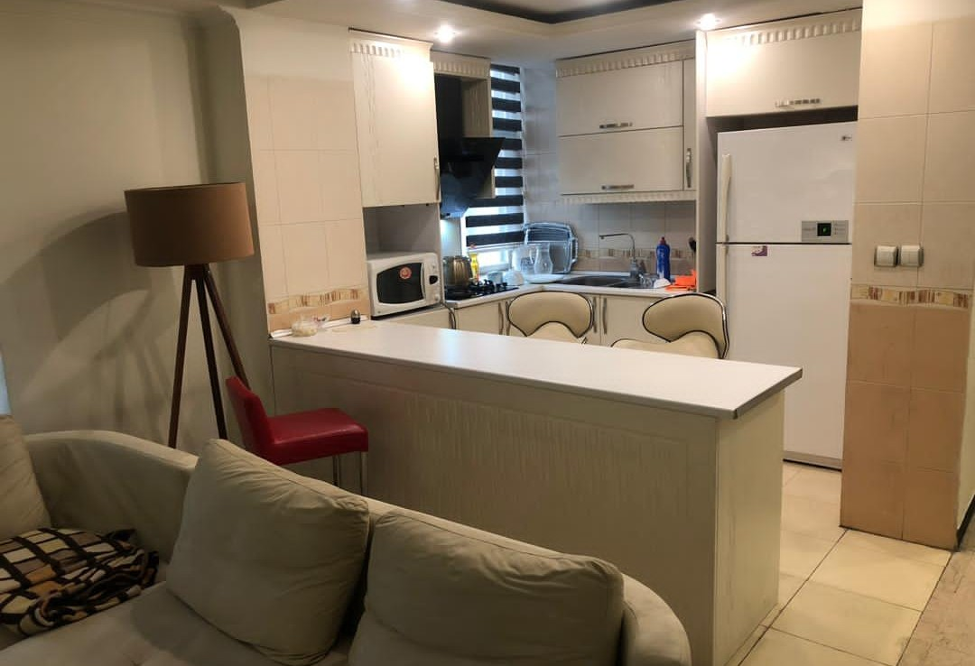 fully furnished flat for renting in Saadat Abad Tehran