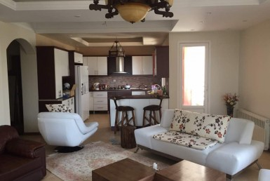 fully furnished flat for rent in Tehran Sa'adat Abad