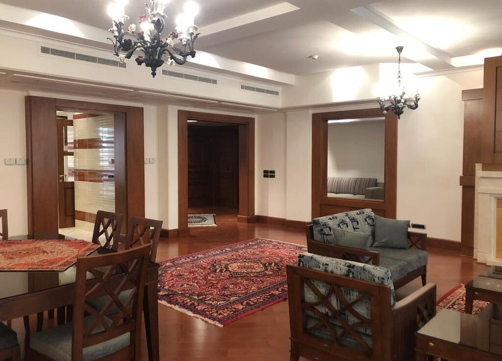 fully furnished apartment for rent in Velenjak Tehran