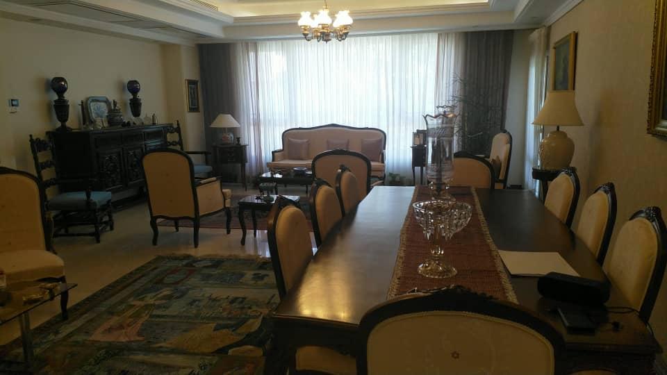 furnished apartment for rent in Zafaraniyeh Tehran