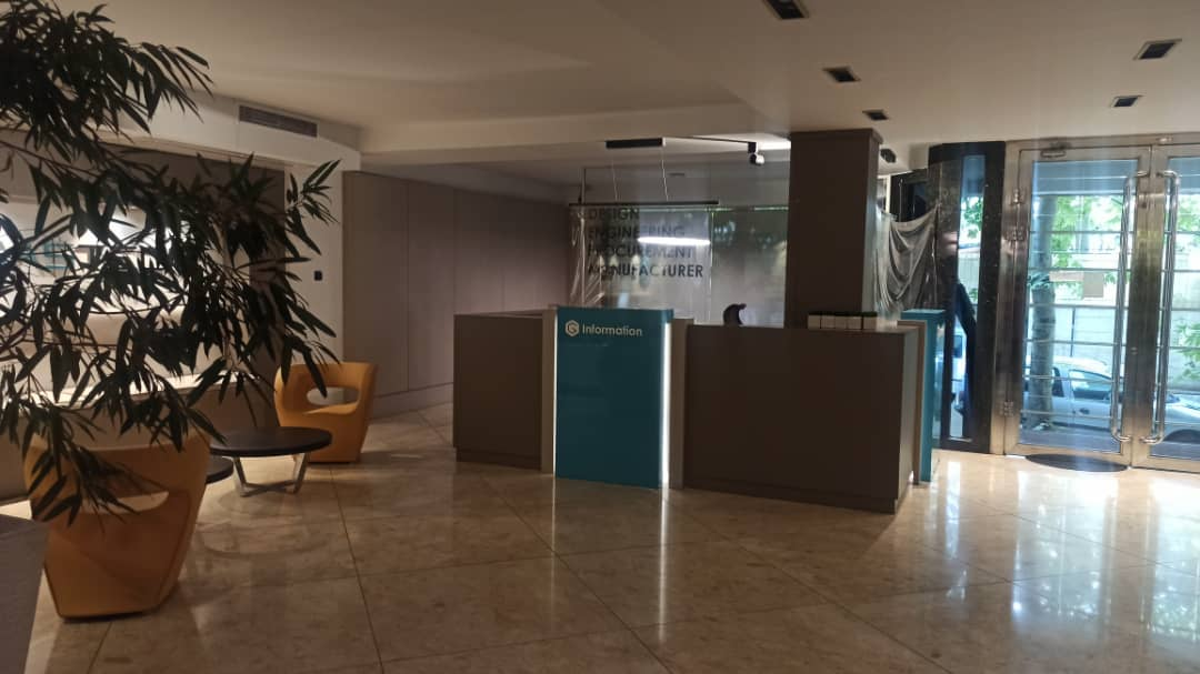 brand new office in Tehran Mahmoodiyeh