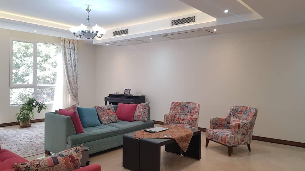 fully furnished flat for renting in Tehran Farmanieh