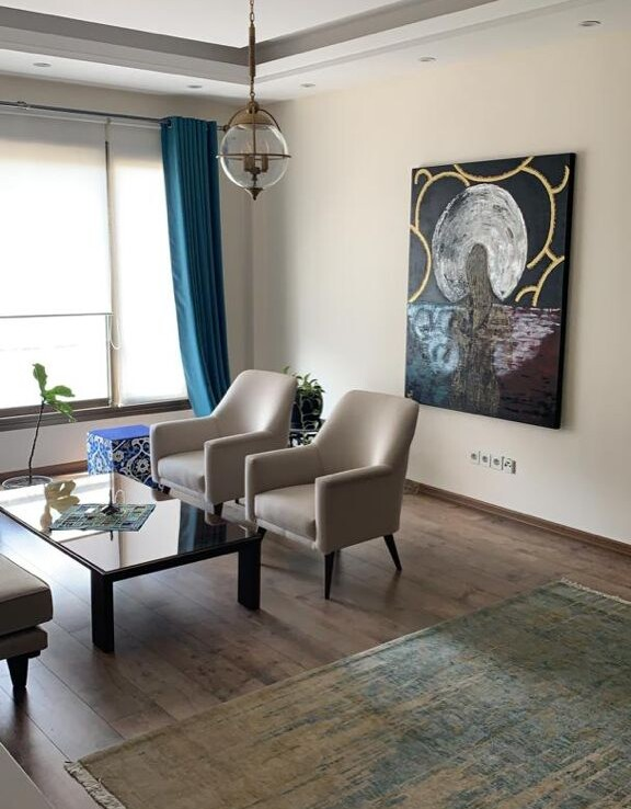 fully furnished flat for renting in Tehran Soheyl St